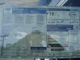 2013 Ford Explorer XLT 4WD Window Sticker