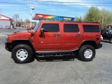 2003 Sunset Orange Metallic Hummer H2 SUV #62865294