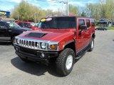 2003 Hummer H2 Sunset Orange Metallic