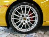 """2007 Porsche 911 Carrera S Cabriolet 2007 Porsche 911 Carrera S Cabriolet, Speed Yellow / Stone Grey, 19"""" Sport Design Wheel"""