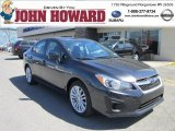 2012 Dark Gray Metallic Subaru Impreza 2.0i Premium 4 Door #62976658