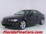 2004 Jet Black BMW 3 Series 325i Coupe #543870
