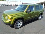 2012 Rescue Green Metallic Jeep Patriot Sport #62976641