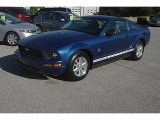 2009 Vista Blue Metallic Ford Mustang V6 Coupe #62976639