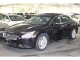 2010 Crimson Black Nissan Maxima 3.5 SV Premium #62976946