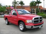 2003 Flame Red Dodge Ram 1500 SLT Regular Cab #62976211