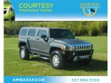 2009 Graphite Metallic Hummer H3  #62976590