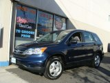 2010 Royal Blue Pearl Honda CR-V LX AWD #62976934