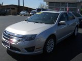 2010 Brilliant Silver Metallic Ford Fusion Hybrid #62976574