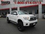 2009 Super White Toyota Tundra Limited CrewMax 4x4 #62976185