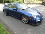 2010 Porsche 911 Aqua Blue Metallic