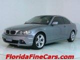 2004 Silver Grey Metallic BMW 3 Series 325i Coupe #543836