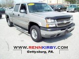 2003 Light Pewter Metallic Chevrolet Silverado 1500 LS Crew Cab 4x4 #62976540