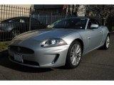 2010 Liquid Silver Metallic Jaguar XK XK Convertible #62976140
