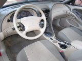 2002 Ford Mustang V6 Convertible Medium Parchment Interior