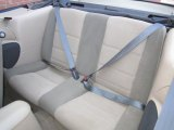 2002 Ford Mustang V6 Convertible Rear Seat