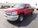 2012 Victory Red Chevrolet Silverado 1500 LS Extended Cab #62976528