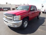 2012 Victory Red Chevrolet Silverado 1500 LT Extended Cab #62976527
