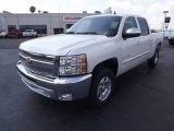 2012 Summit White Chevrolet Silverado 1500 LT Crew Cab #62976525
