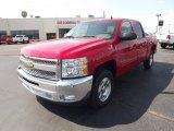 2012 Victory Red Chevrolet Silverado 1500 LT Crew Cab #62976524