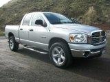 2008 Bright Silver Metallic Dodge Ram 1500 Big Horn Edition Quad Cab 4x4 #62976865