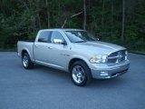 2010 Bright Silver Metallic Dodge Ram 1500 Laramie Crew Cab #62976835