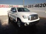 2012 Super White Toyota Tundra Platinum CrewMax 4x4 #62976442