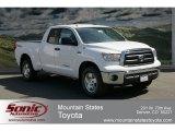 2012 Super White Toyota Tundra TRD Double Cab 4x4 #62976042
