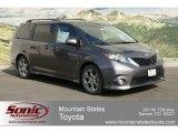 2012 Predawn Gray Mica Toyota Sienna SE #62976036