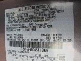 2006 Mustang Color Code for Tungsten Grey Metallic - Color Code: T8