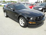 2007 Black Ford Mustang V6 Premium Convertible #62976427
