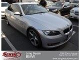 2009 Titanium Silver Metallic BMW 3 Series 335i Coupe #62976405