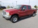 2003 Toreador Red Metallic Ford F250 Super Duty Lariat Crew Cab 4x4 #62976763