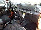 2012 Jeep Wrangler Sport S 4x4 Dashboard
