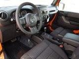 2012 Jeep Wrangler Sport S 4x4 Black Interior