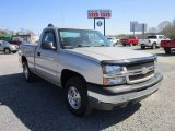 2004 Silver Birch Metallic Chevrolet Silverado 1500 LS Regular Cab 4x4 #62976757