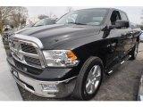 2010 Brilliant Black Crystal Pearl Dodge Ram 1500 Big Horn Quad Cab 4x4 #62976705