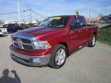 2011 Deep Cherry Red Crystal Pearl Dodge Ram 1500 Big Horn Quad Cab 4x4 #62976329