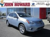 2012 Frosted Steel Nissan Rogue SV AWD #62976674