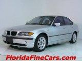 2003 Titanium Silver Metallic BMW 3 Series 325i Sedan #544125
