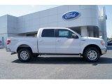 2011 White Platinum Metallic Tri-Coat Ford F150 Lariat SuperCrew 4x4 #63038283