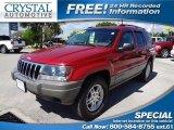 2002 Inferno Red Tinted Pearlcoat Jeep Grand Cherokee Laredo 4x4 #63038552