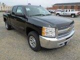 2012 Black Granite Metallic Chevrolet Silverado 1500 LS Extended Cab 4x4 #63038547