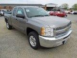 2012 Graystone Metallic Chevrolet Silverado 1500 LT Extended Cab #63038546