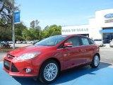 2012 Red Candy Metallic Ford Focus SEL 5-Door #63038229