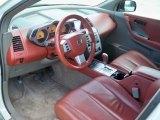 2003 Nissan Murano SL Cabernet Interior