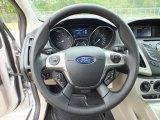 2012 Ford Focus SE Sedan Steering Wheel