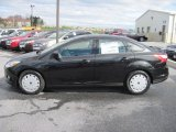 2012 Tuxedo Black Metallic Ford Focus SE SFE Sedan #63038506