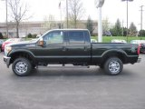 2012 Green Gem Metallic Ford F250 Super Duty XLT Crew Cab 4x4 #63038501
