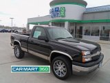 2004 Black Chevrolet Silverado 1500 LS Regular Cab 4x4 #63038499